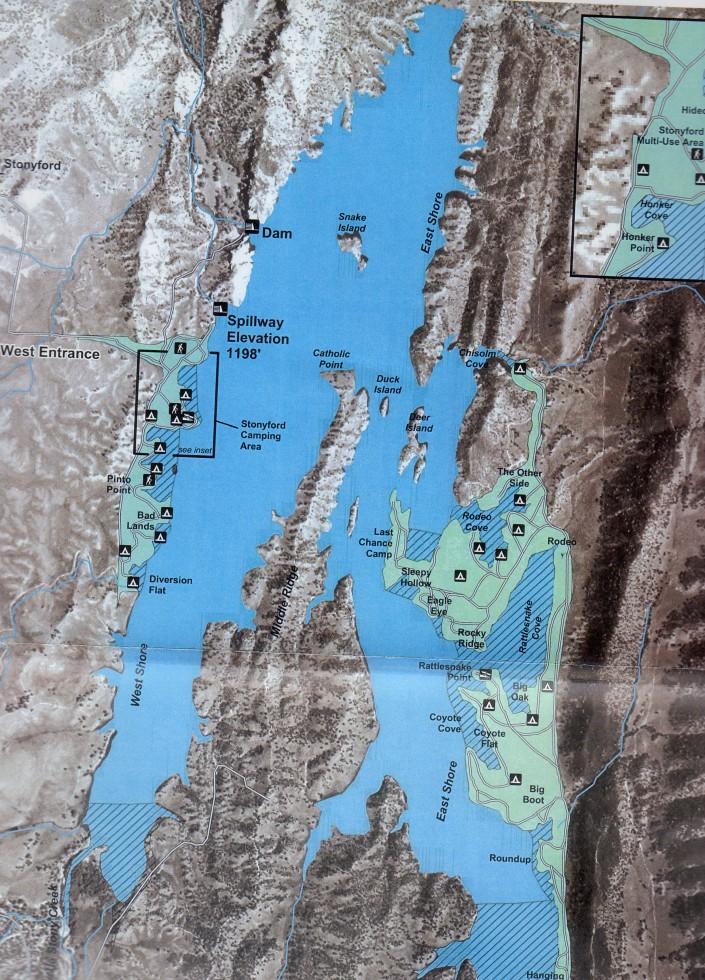 East Park Reservoir Stonyford California